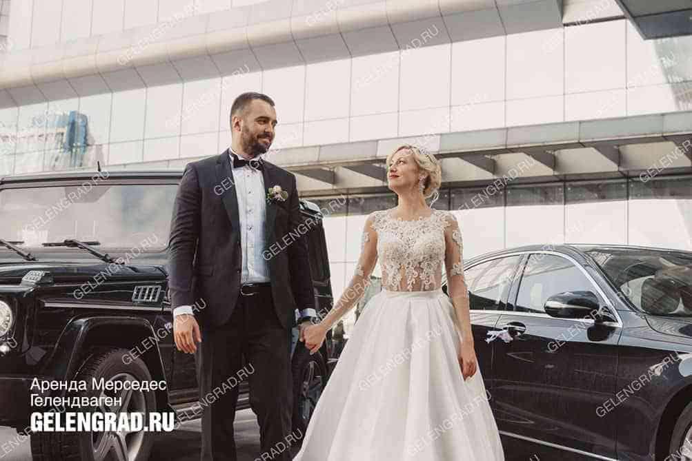 Прокат Gelandewagen на свадьбу в Москве