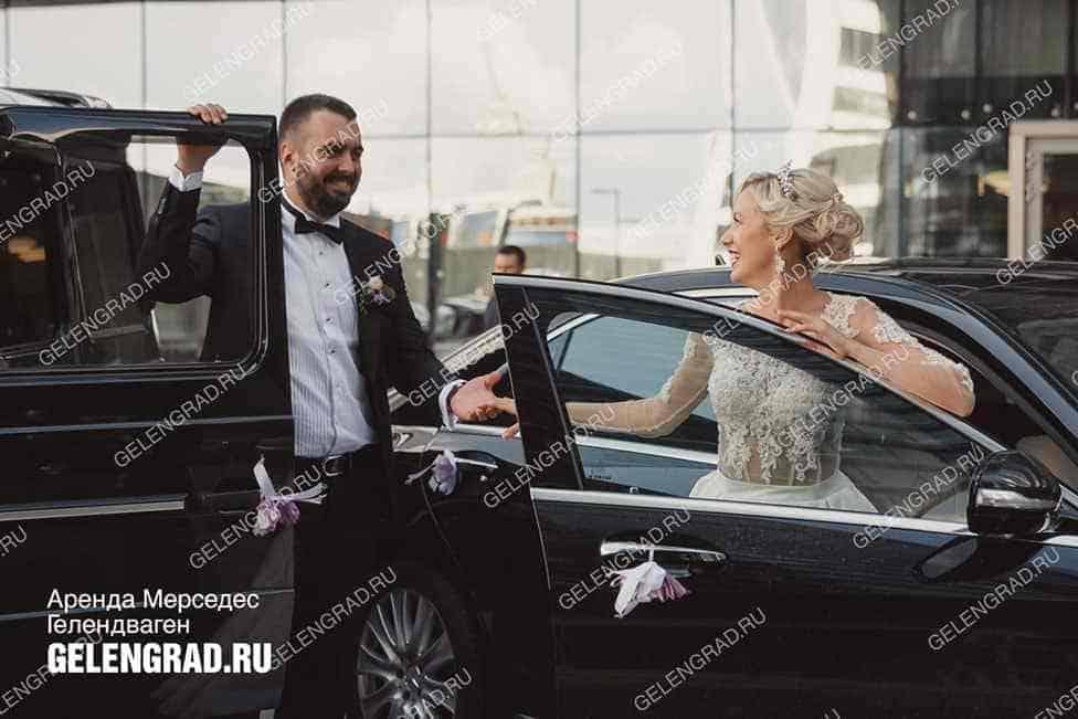 Аренда Гелендвагена на свадьбу в Москве